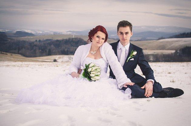 Soutěžní svatební pár číslo 222 - Manželé Pavlákovi, Šumperk