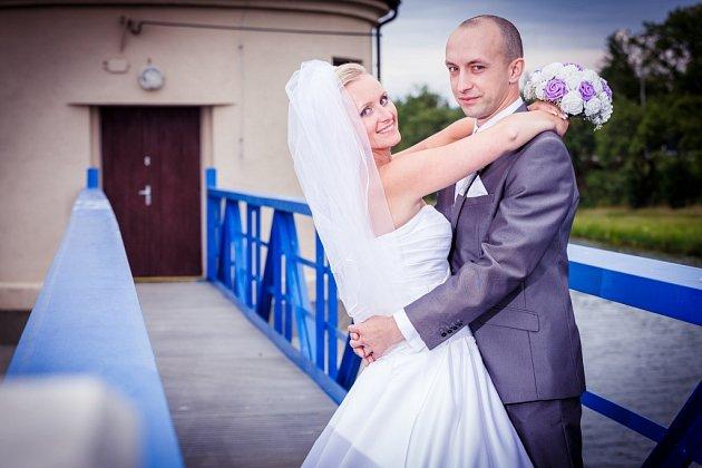 Soutěžní svatební pár číslo 87 - Silvia a Petr Mácovi, Kněžpole.