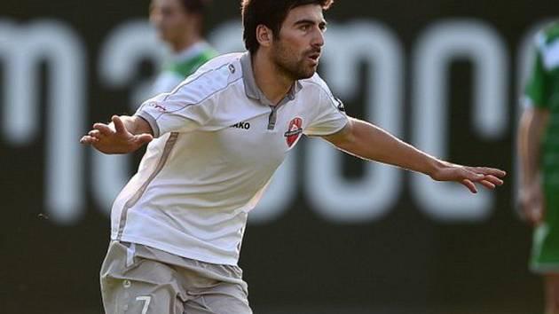 Fotbalisté Slovácka získali posilu do útoku. Vedení klubu přivedlo nejlepšího střelce gruzínské ligy Irakliho Sikharulidze.