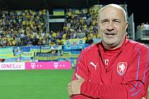 Šéf fotbalistů třetiligového Uherského Brodu Josef Hamšík je kustodem českého národního týmu