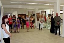 Výstavní prostory Turistického centra na Velehradě. Ilustrační foto.