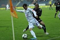 Hradec Králové - 1. FC Slovácko. Ilustrační foto.