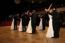 Ples uherskohradišťských gymnazistů.