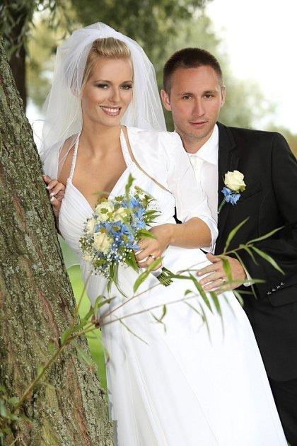 Soutěžní svatební pár číslo 8 - Martina a Tomáš Dokoupilovi, Olomouc.