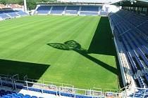 Městský stadion Miroslava Valenty v Uherském Hradišti.