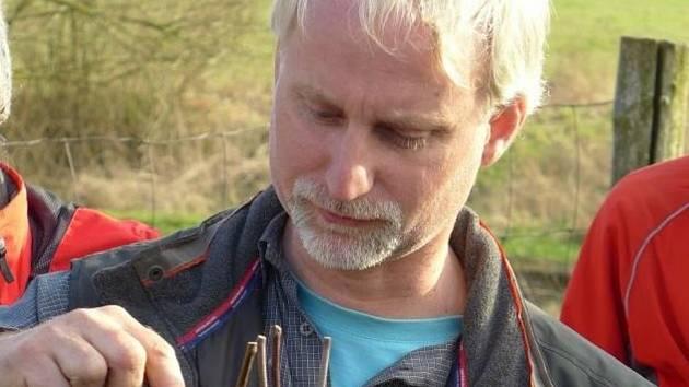 Ekologický zemědělec a ovocnář Radim Ajša Pešek.