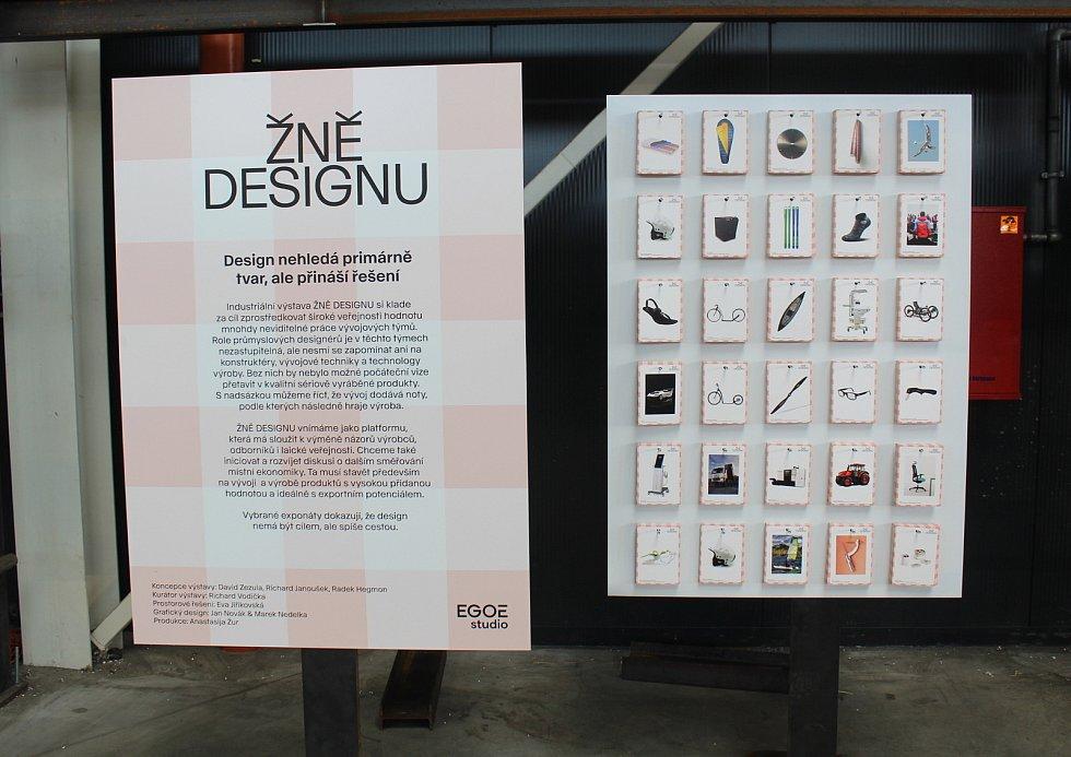 Festival WiFič VEN! Jeho součástí je výstava Žně designu.