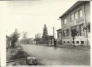 Mlékárna v Ostrožské Nové Vsi v 60. letech minulého století.