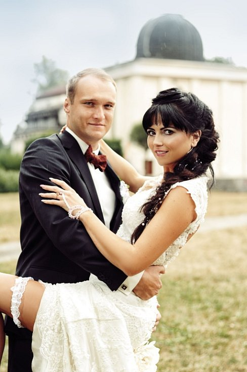 Soutěžní svatební pár číslo 158 - Lucie a Jaroslav Kašparovi, Prostějov