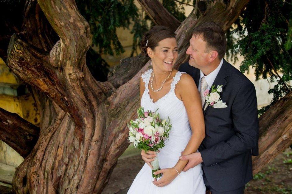 Soutěžní svatební pár číslo 162 -Veronika a Ladislav Beňovi, Želče