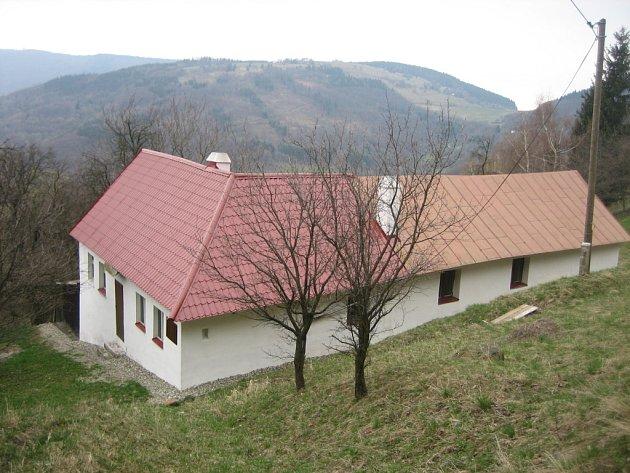 Chalupa v okolí Vyškovce.