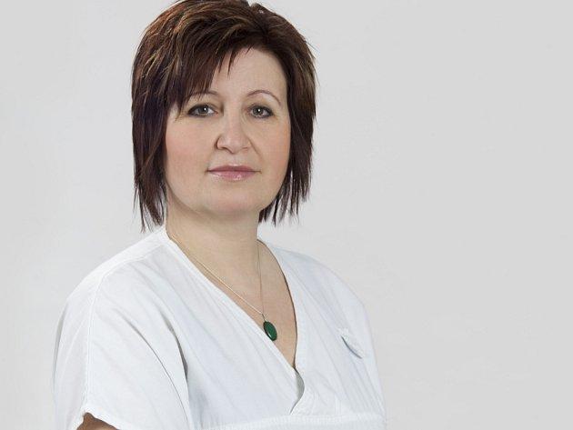 Specialistka v oboru výživa dospělých Jolana Vávrů
