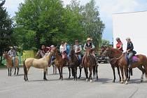 V Boršicích se sešli milovníci koní.