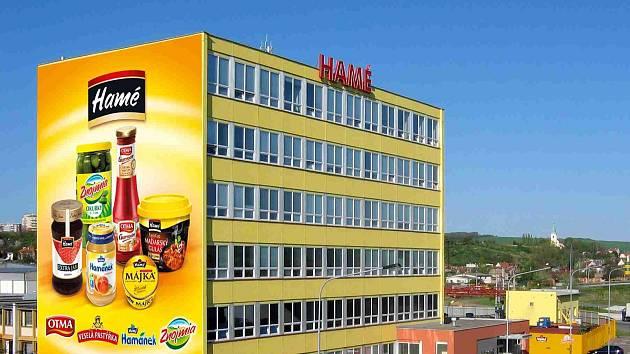 Potravinářská společnost Hamé z Kunovic.