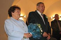 LUXOVI oslavili v sobotu diamantovou svatbu.