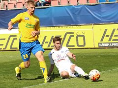 1. FC Slovácko - Fastav Zlín. Ilustrační foto.