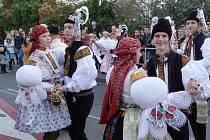 Císařské hody s právem uspořádala chasa v řadě obcí na Slovácku. Hodové veselí v Mařaticích