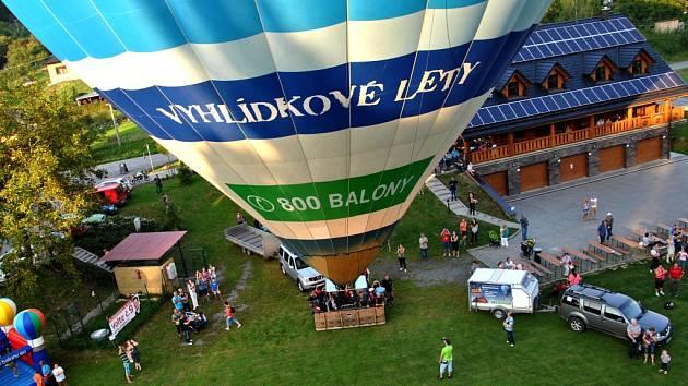 Balon centrum v Břestku. Ilustrační foto.