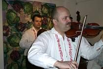 Na akci zahrála cimbálová muzika Babica z Hluku.