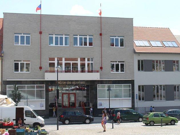 Městský úřad v Uherském Brodě. Ilustrační foto.