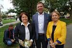 Pamětní deska J. V. Staňka byla odhalena 27. září.
