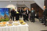 V Brodě po téměř roce oprav v podkroví Panského domu otevřeli nízkoprahové centrum Šrumec.