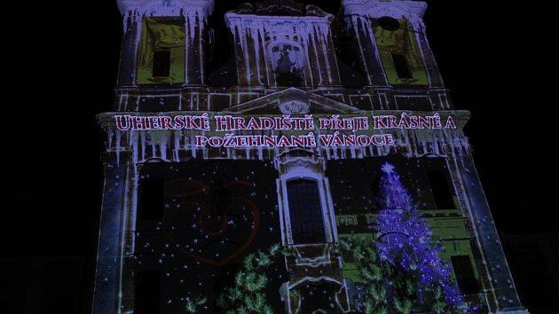 Rozsvícení vánočního stromu v Uherském Hradišti, 30. 11. 2018
