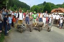 Závodů se zúčastnily na tři desítky borců.