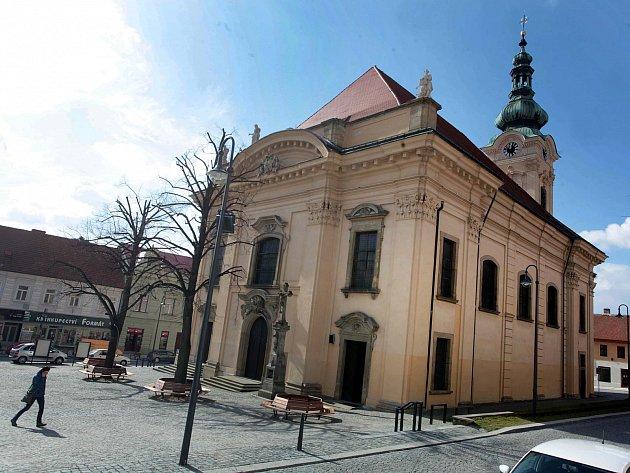 Kostel Neposkvrněného početí Panny Marie v Uherském Brodě.
