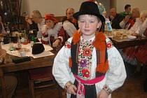 Krojový ples v Hluku na tvrzi v sobotu 1. března mimo jiné veřejnosti představil Františka Libosvára, letošního krále hlucké jízdy.