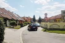 Ulice U Pálenice v Kunovicích