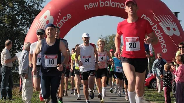 Loňského půlmaratonu se zúčastnilo 23 běžců.