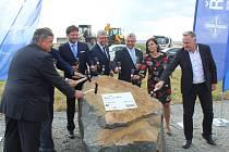 Zahájení stavby úseku dálnice D55 mezi Starým Městem  Babicemi.