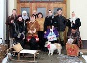 Svařákový pochod přátelství sfinančním darem Barunce Volfové