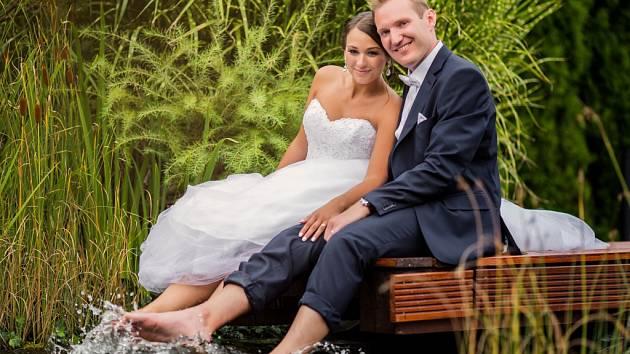 Soutěžní svatební pár číslo 132 - Monika a Radek Surmovi, Prostějov