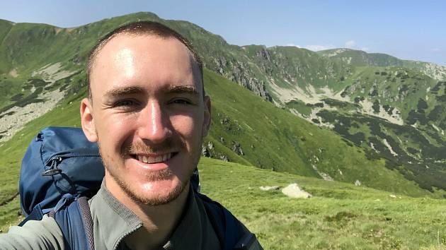 Na pěší cestě z Dukly k Děvínu ušel Maxim Jilík 770 kilometrů.