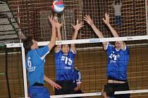 Staroměstští volejbalisté v sobotním utkání Nymburk přetlačili i díky dobré hře v obraně.