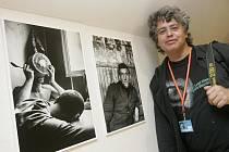 Výstavu fotografií Karla Cudlína (na snímku) mohou pacienti i ostatní návštěvníci hradišťské nemocnice zhlédnout do konce listopadu