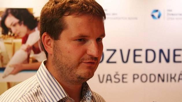 Živnostník roku David Vlk z Uherského Hradiště
