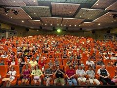 Kino Hvězda pojme 344 diváků.