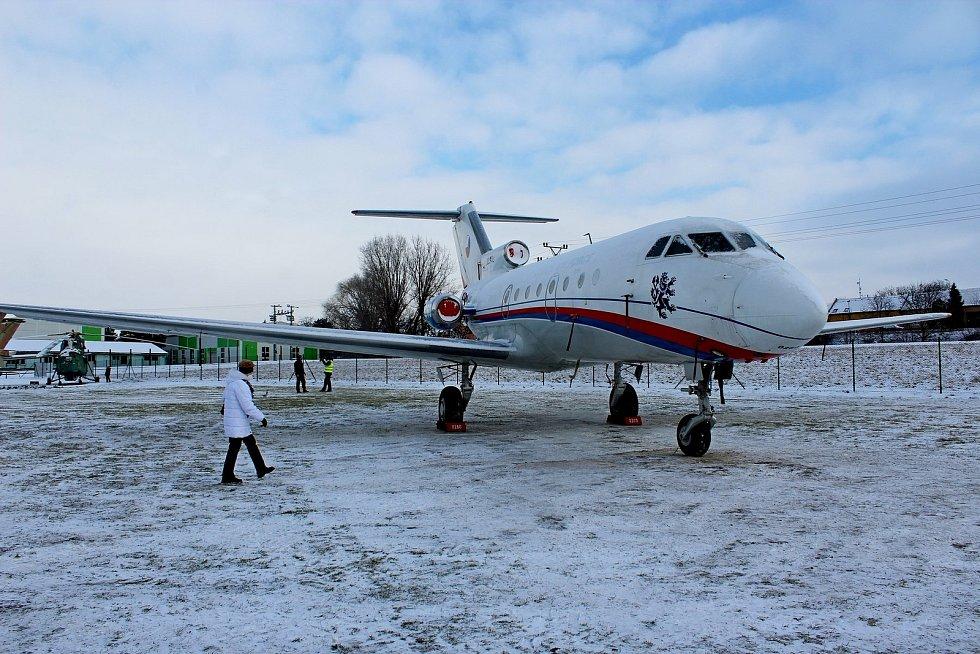 Další vládní speciál, letoun Jak-40, bude od letošní sezony chloubou Leteckého muzea Kunovice.