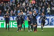 Gólová radost Slovácka v zápase s Baníkem