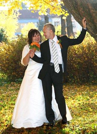 Soutěžní svatební pár číslo 39 - Dagmar a Miroslav Goňovi, Slavičín