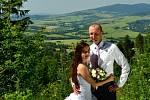 Soutěžní svatební pár číslo 52 - Jiří a Petra Valentovi, Hrabenov