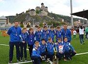Přípravka 1. FC Slovácko U11 vybojovala na mezinárodním turnaji v Trenčíně 3. místo.