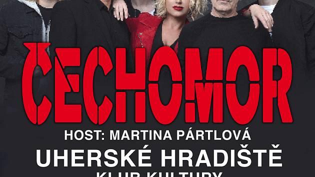 Jednatřicet let - tolik letos oslaví Čechomor. V Hradišti zahraje spolu s Martinou Pártlovou