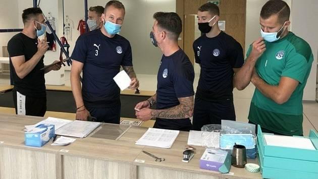 Hráči Slovácka absolvovali kondiční testy na Fakultě tělesné kultury Univerzity Palackého v Olomouci