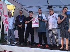 První místo vyvařili hradišťské restauraci kuchaři Michal Škubník a Tomáš Hauser.
