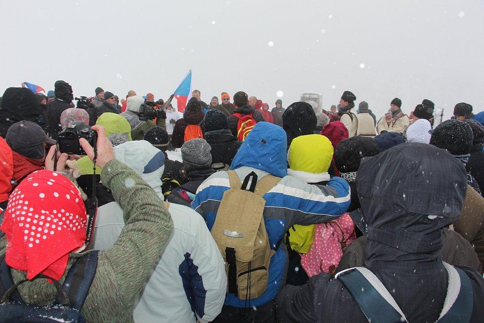 26. ročník silvestrovského setkání na Velké Javořině.