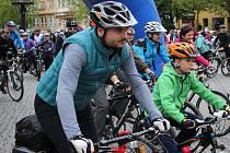 Na kole vinohrady - start v Uherském Hradišti